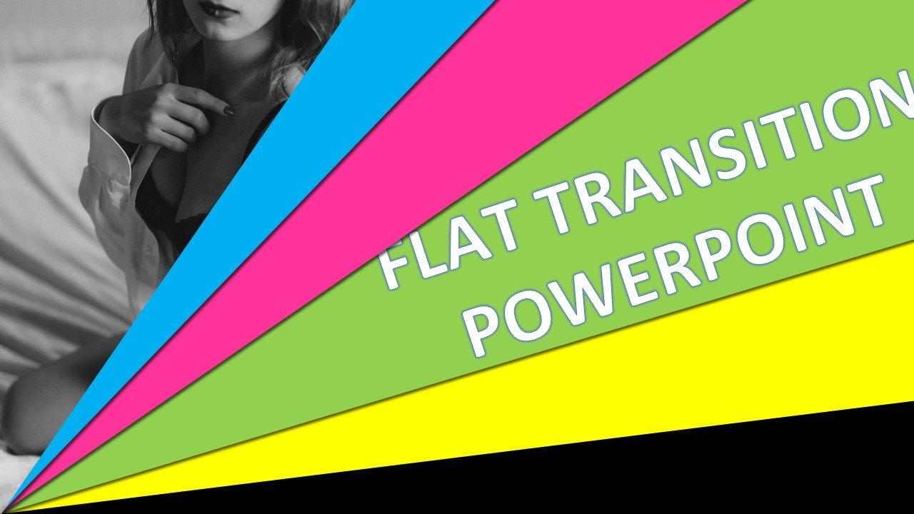 Elegant Flat Transition Download Powerpoint