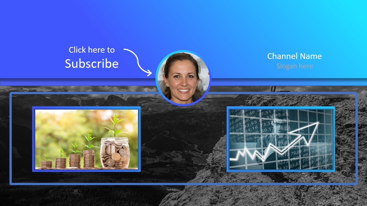 4 OUTROS Youtube Powerpoint Online Templates